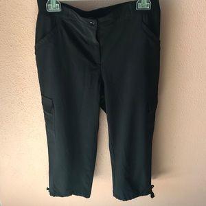Chico's Zenergy Black Pants Size 1
